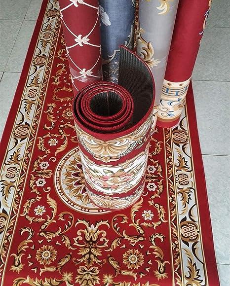 8Mm Size : 0.8X2m Classical Carpet Cuisine Tapis de Passage Long Couloirs Rouge Antid/érapant M/élang/é pour Couloir