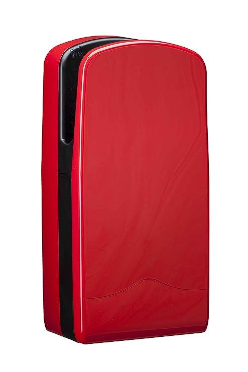 hexotol secador de manos de aire comprimido en ABS plástico rojo: Amazon.es: Bricolaje y herramientas
