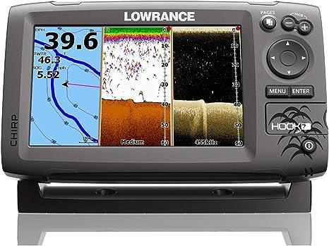 Lowrance Hook-7 Chirp Dsi Fishfinder Chartplotter W/C-Map gráficos ...