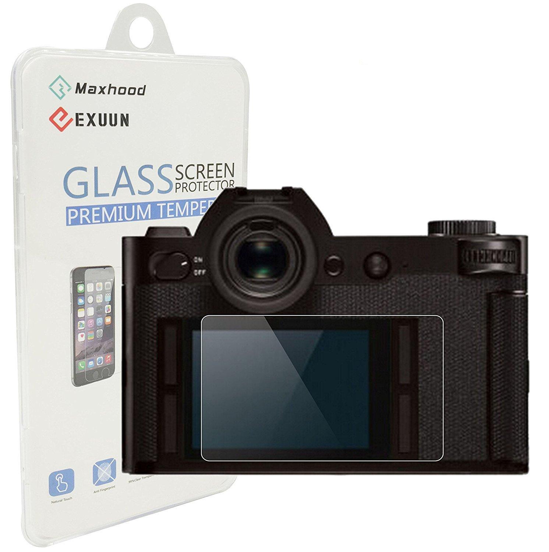 maxhood Leica Q (Typ 116) Protector de pantalla de cristal ...