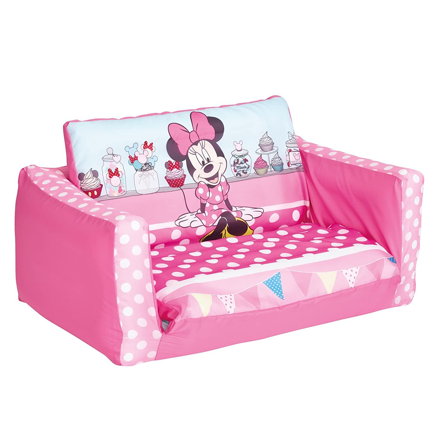Minnie Mouse Flip Out Mini canapé en plastique Rose Amazon