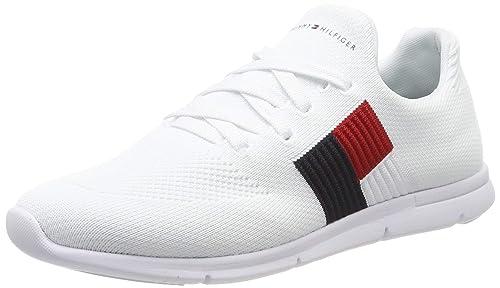 best choice running shoes great deals 2017 Tommy Hilfiger Damen Knitted Flag Light Sneaker