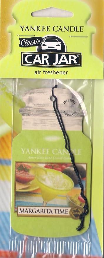 Yankee Candle Classic Car Jar Auto Lufterfrischer Weihnachten Margarita Time Küche Haushalt