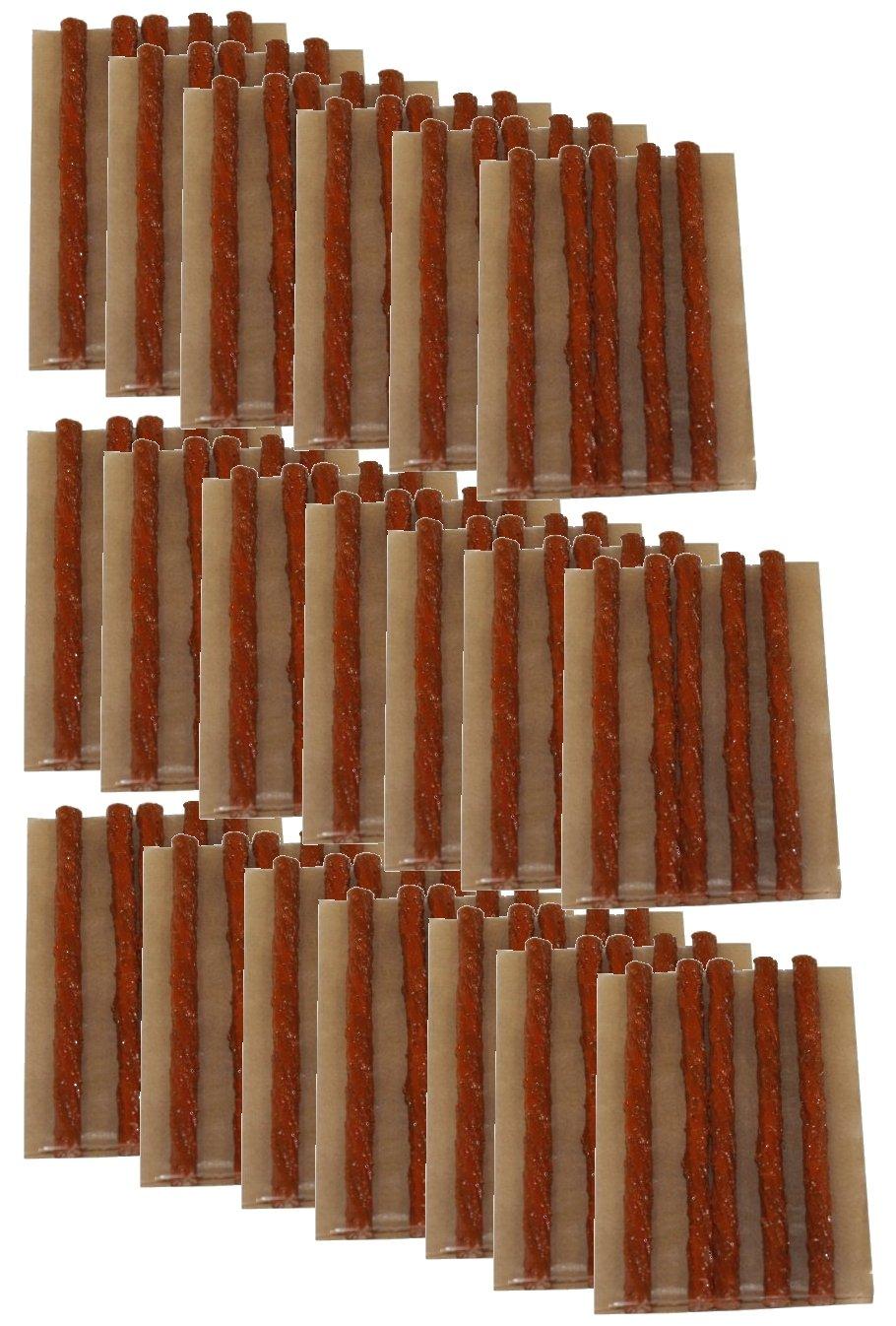 Aerzetix: Lot de 100 mè ches longues 10cm pour kit de ré paration de pneu voiture auto moto - C1648 3800946169109