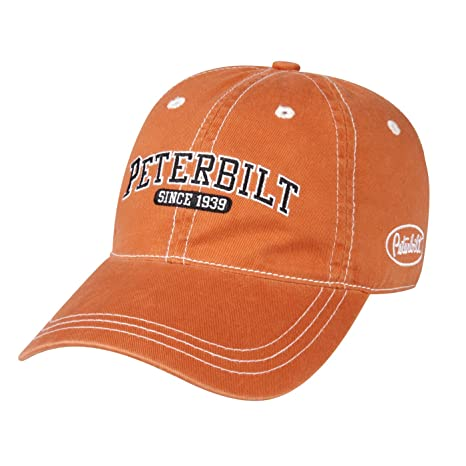 Amazon.com   Peterbilt Motors Unstructured Burnt Orange Cap   Sports ... 1e92844b37d4