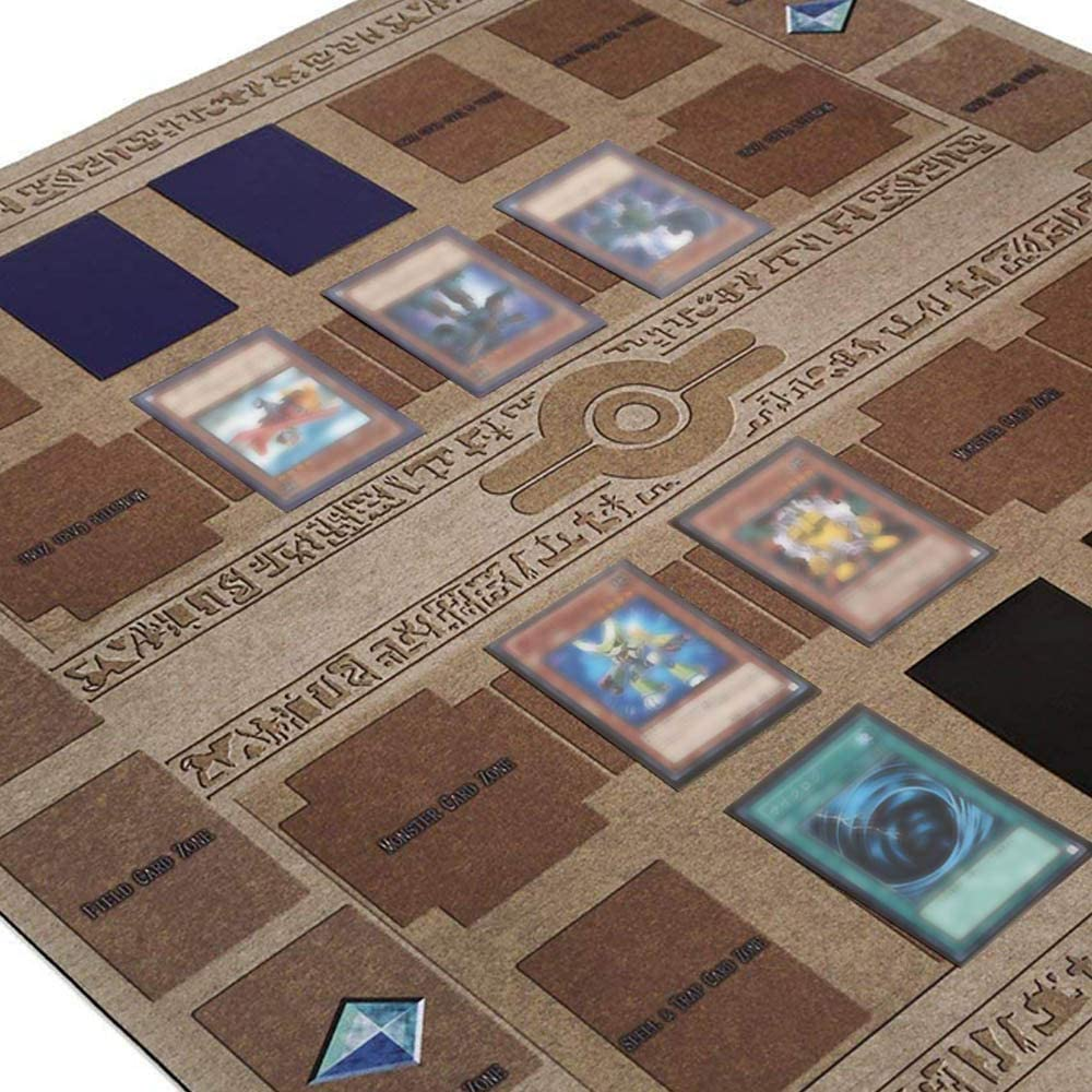 Skryo 60x60cm Gummispielmatte Galaxy Style Competition Pad Spielmatte f/ür Yu-gi-oh Karten