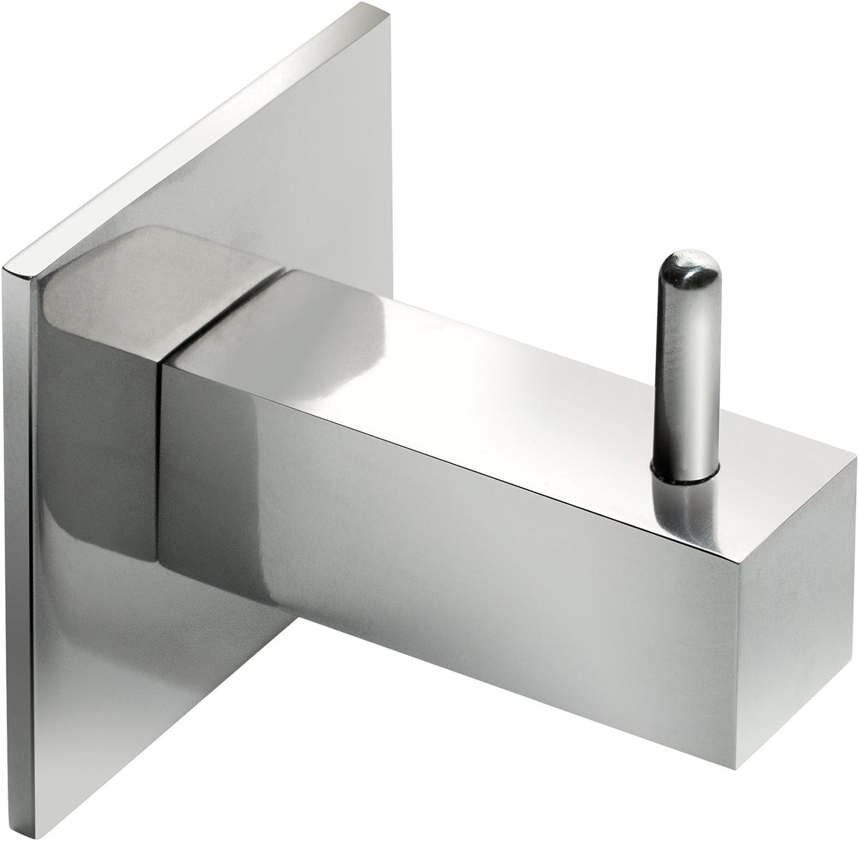 Percha Toallero cuadrado para pegar en cristal de mampara de ducha ...
