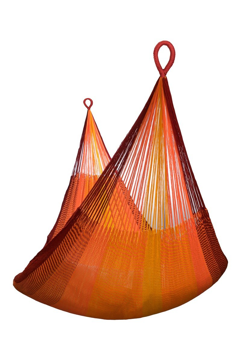 "Hill Tribe XL Hammock, Sundown, The Most Weather Resistant, FAIR Trade Hammock - Material: Very soft and weatherproof triple ACRYLIC yarn 3 x 16/2/2 (MICRO WEAVING) The material is incredible soft, softer then cotton, and can be left outside all summer. Definitely the softest and most comfortable of all weatherproof hammocks. Overall Length: 155"". Bed Length (woven part): 89"". Width: >84"". Weight 2.65lbs - patio-furniture, patio, hammocks - 71Z5hfdWTKL -"
