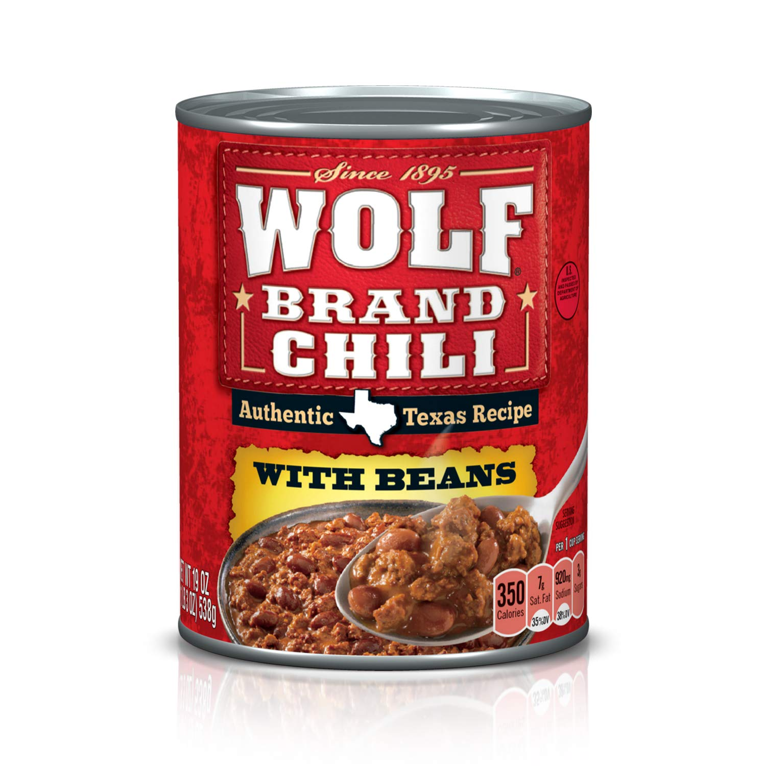 Amazon Com Wolf Brand Chili With Beans 24 Oz Packaged Chili