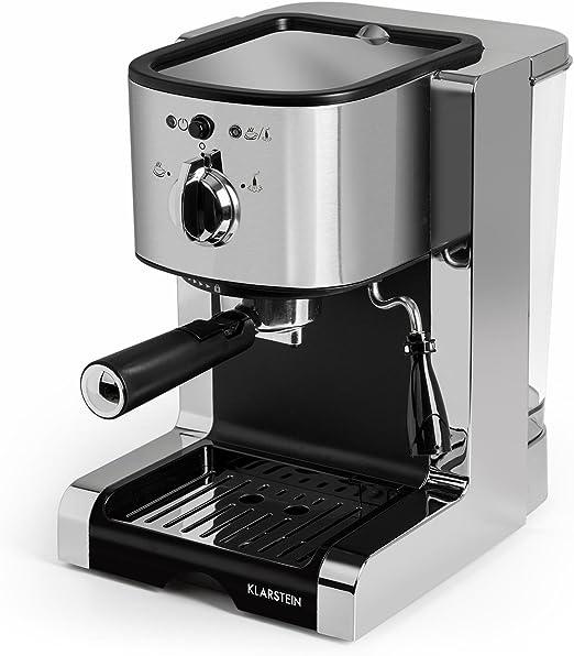 Klarstein Passionata 20 Máquina de café espresso - Cappuccino ...