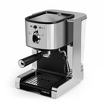 Klarstein Passionata 20 Máquina de café espresso • Cappuccino • Capacidad para 6 tazas • Depósito