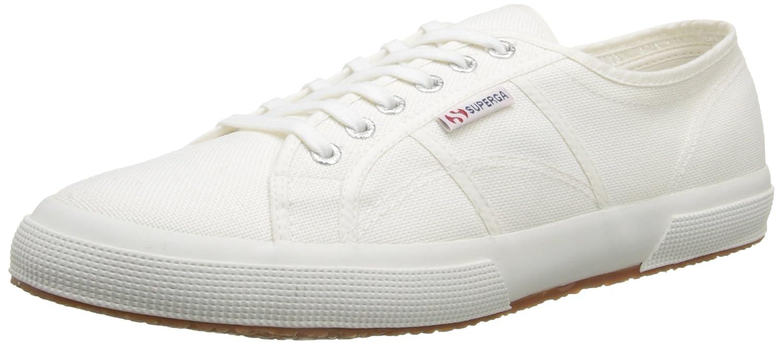 Superga 2750 COTU CLASSIC, Unisex-Erwachsene Sneaker, Weiß, 50 EU