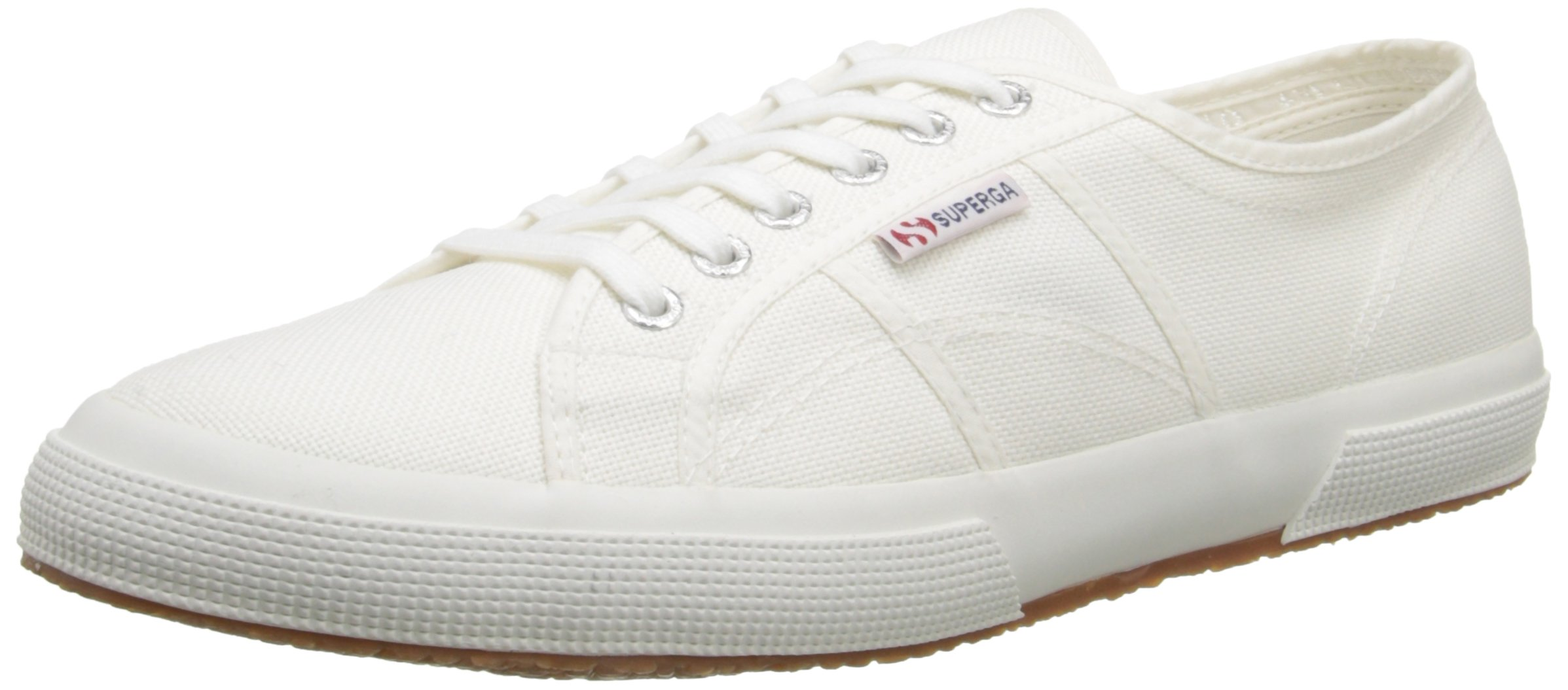 Superga Unisex 2750 Cotu  White Classic Sneaker - 38 M EU / 7.5 B(M) US Women / 6 D(M) US Men by Superga