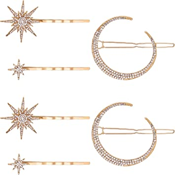 Cats Diamonds Geometry Hair Clip Silver /& Gold Hair Accessories Hairpin