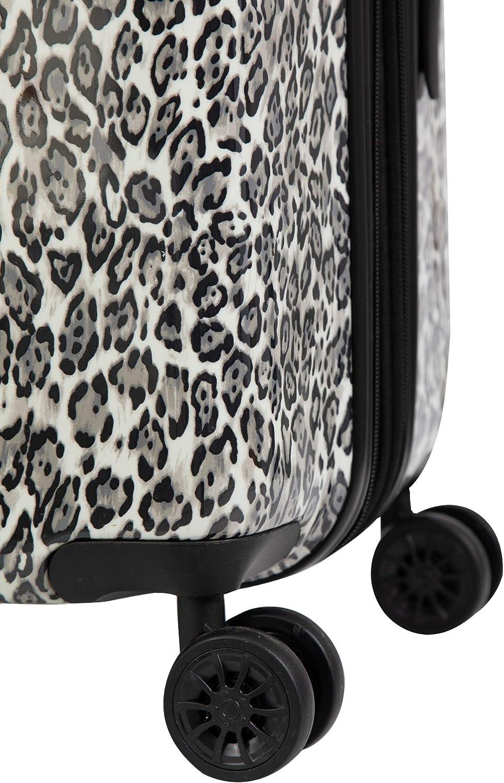 Isaac Mizrahi Gabby 26 8-Wheel Hardside Spinner Grey Leopard