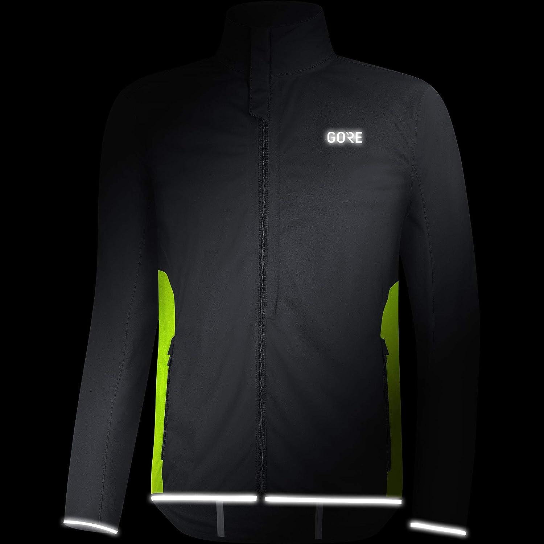 GORE WEAR R3 Windstopper Men Running Jacket black