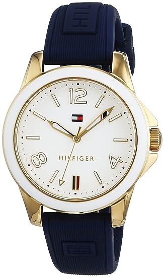 Reloj analógico para mujer Tommy Hilfiger 1781679, mecanismo de cuarzo, diseño clásico, correa de silicona.: Tommy Hilfiger: Amazon.es: Relojes