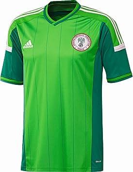Camiseta Nigeria 1ª 2014: Amazon.es: Deportes y aire libre