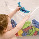 HENGSONG Convenient Kids Baby Home Bath Tub Toy Bags Hanging Organizer Storage Bag (36*37cm)