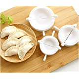 BUTEFO 3pcs Press Ravioli Dough Pastry Pie Dumpling Maker Gyoza Empanada Mold Mould Tool