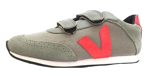 Veja Arcade Small - Zapatillas de tela para niño Gris Grigio (grigio) 1.5 UK: Amazon.es: Zapatos y complementos
