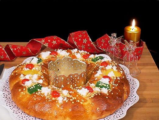 Compra Walter Cuchillo Especial para Cortar el Roscón de Reyes, Acero Inoxidable, Azul Metalizado en Amazon.es