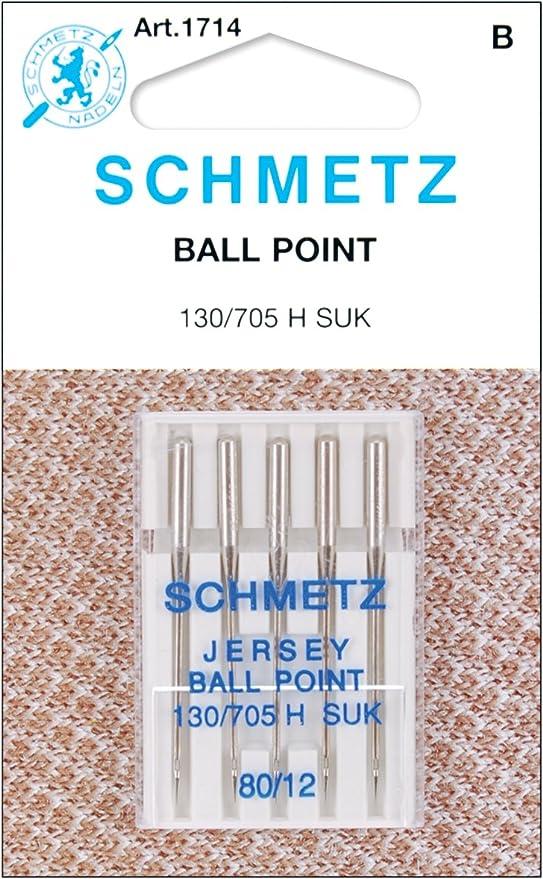 Spinrite Schmetz 1714C - Agujas para máquina de Punto de Bola ...