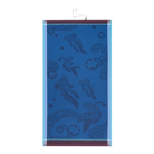 Le Jacquard Francais toalla de baño costura, algodón, blanco, 70 x 140 cm: Amazon.es: Hogar