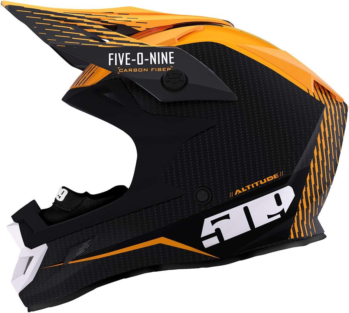 509 Altitude Carbon Fiber Helmet with Fidlock Off Grid Orange – Medium