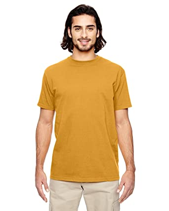 405af2ddfedc Econscious Men's Organic Cotton Classic Short Sleeve T Shirt, BEEHIVE, Small