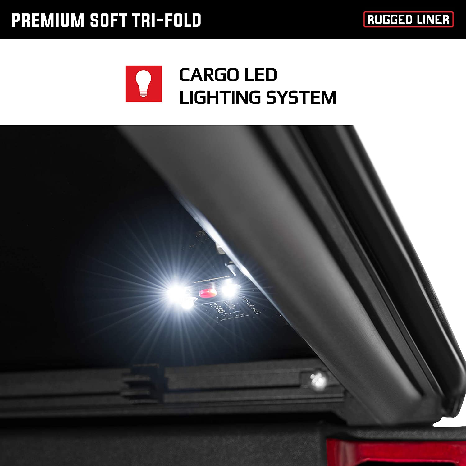 Amazon Com Rugged Liner Premium Soft Folding Truck Bed Tonneau Cover Fct605 Fits 2005 2015 Toyota Tacoma 6 2 Bed 73 5 Automotive