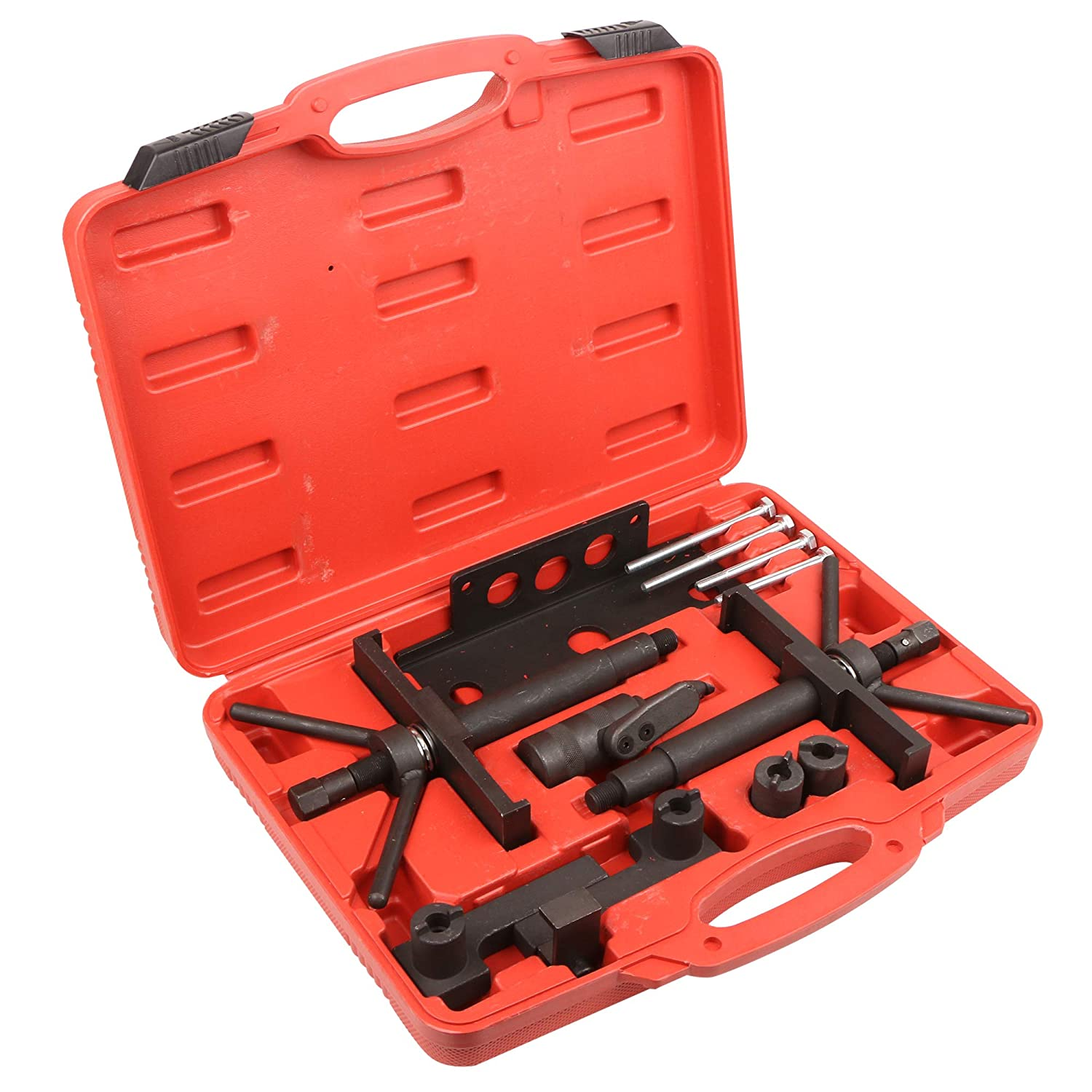 MOSTPLUS Camshaft Crankshaft Alignment Timing Locking Tool for VOLVO Models 850 960 S40 S70 and S90 Heavy Duty Steel Construction-13 Pieces