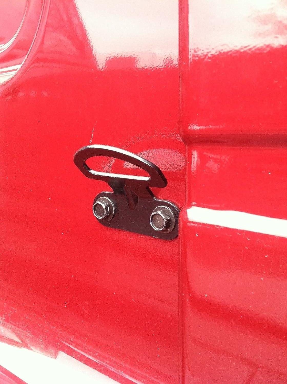 Nissan Set of 4 New OEM Titan//Frontier Rear Bed Metal TIE Down//Rope Hooks
