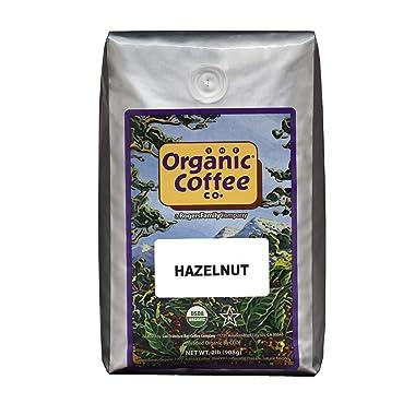 The Organic Coffee Co. Hazelnut Whole Bean Organic Coffee