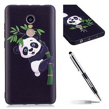 Carcasa Xiaomi Redmi Note 4X Pro, Funda Xiaomi Redmi Note 4 Pro, JAWSEU [NO VERSIÓN GLOBAL] Xiaomi Redmi Note 4/4X Pro Protectivo Parachoques Tapa ...