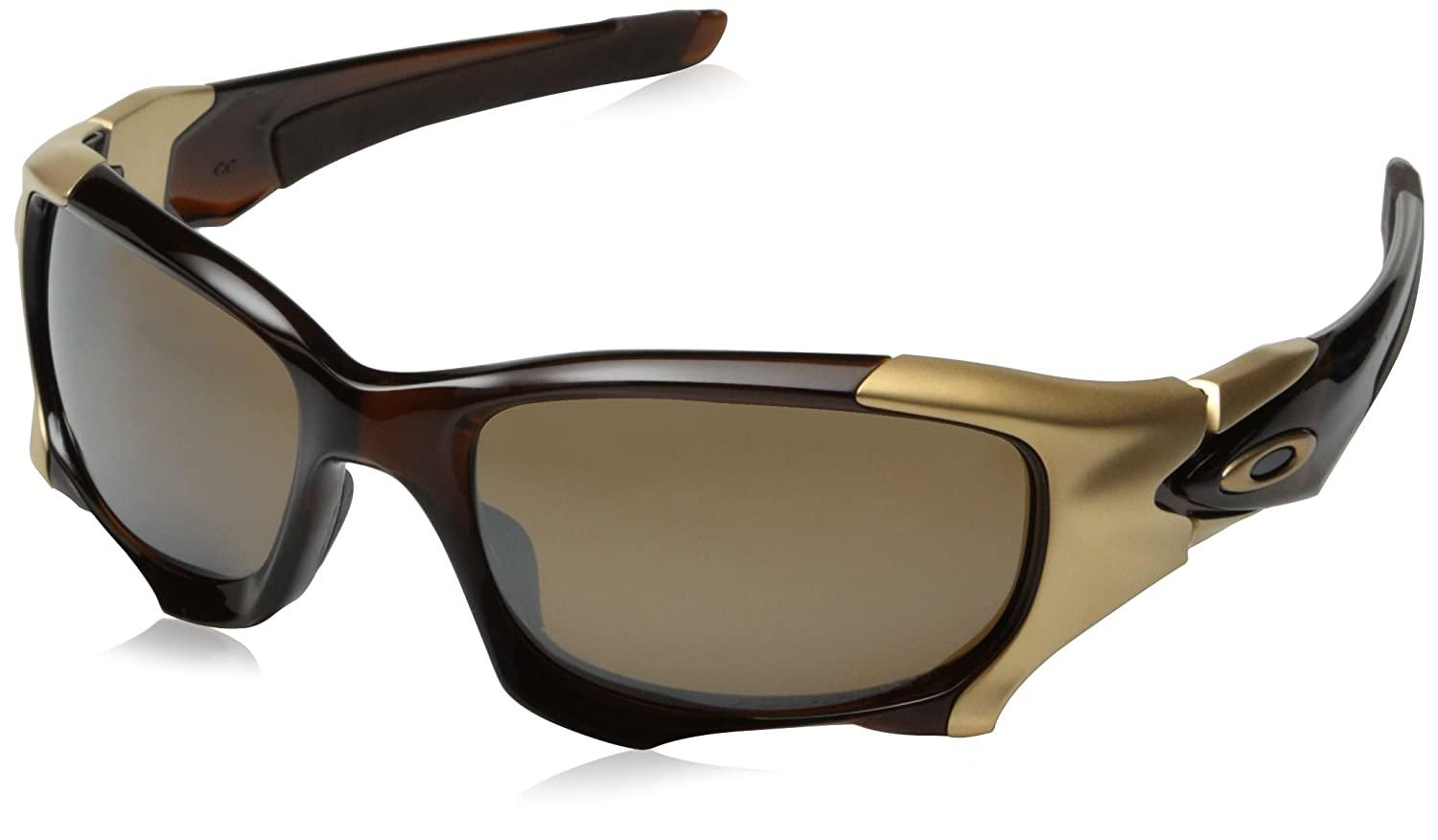 ba5758c883 Oakley Pit Boss 2 Rootbeer with Tungsten Iridium Polarized Lens  (OO9137-03)  Amazon.co.uk  Clothing