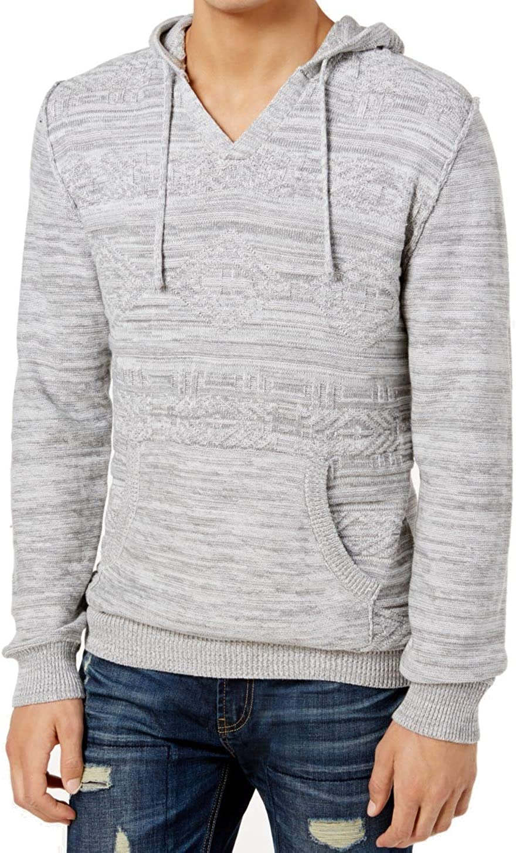 American Rag Mens Colorblocked Full-Zip Hoodie Sweatshirt