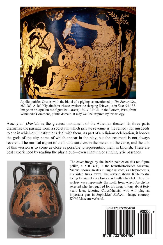The Oresteia: Agamemnon, The Libation Bearers, Eumenides: Amazon.es: Aeschylus, Rodney Merrill: Libros en idiomas extranjeros