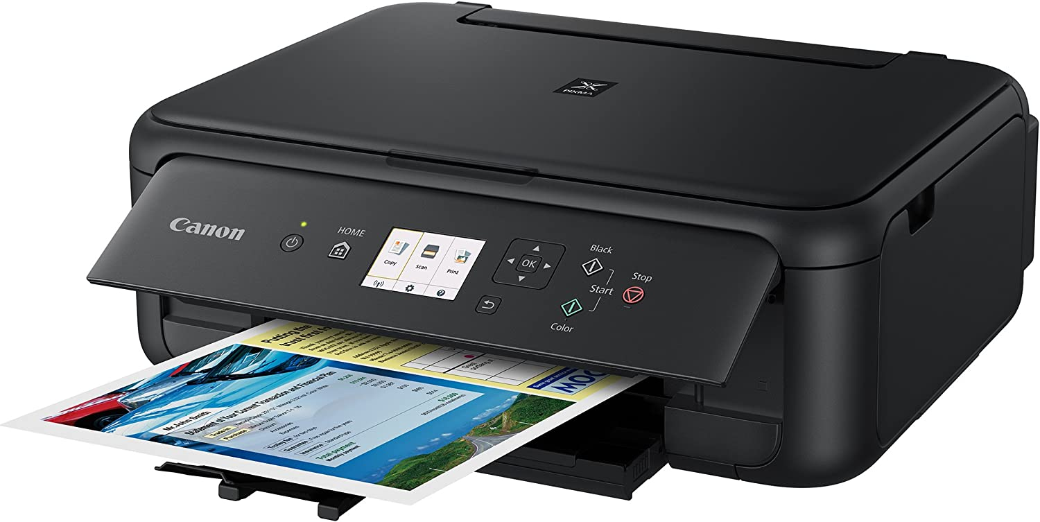 with Airprint TM Black Canon TS5120 Wireless All-In-One Printer with Scanner and Copier: Mobile and Tablet Printing and Google Cloud Print compatible