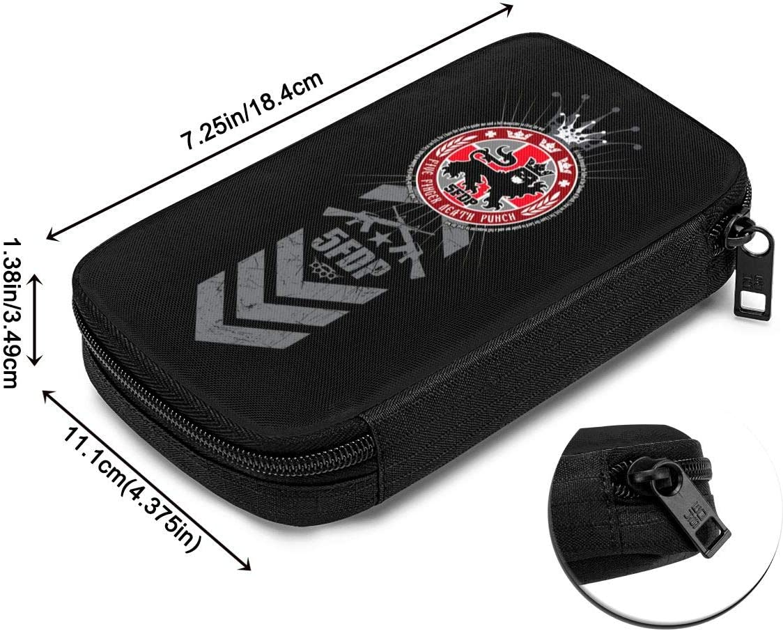 NOT Five Finger Death Punch Electronics SD Memory Cards Earphone Flash Hard Drive Bag