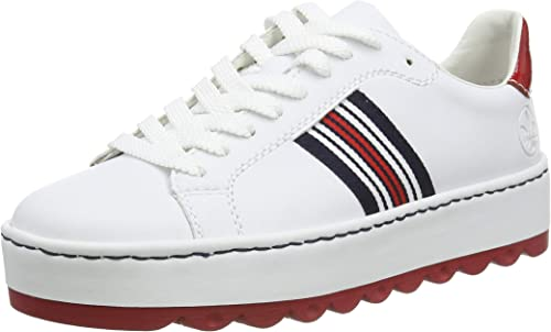 Rieker Damen FrühjahrSommer N4622 Sneaker