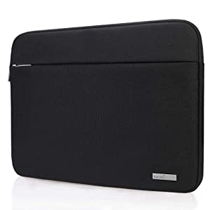 "Lacdo 15 Inch Water Resistant Laptop Sleeve Case Bag Compatible New 15"" MacBook Pro Touch Bar 2018-2017 (A1990 A1707) 
