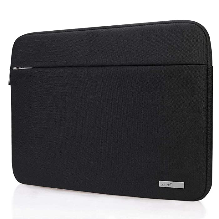 """Lacdo 15 Inch Water Resistant Laptop Sleeve Case Bag Compatible New 15"""" MacBook Pro Touch Bar 2018-2017 (A1990 A1707) 