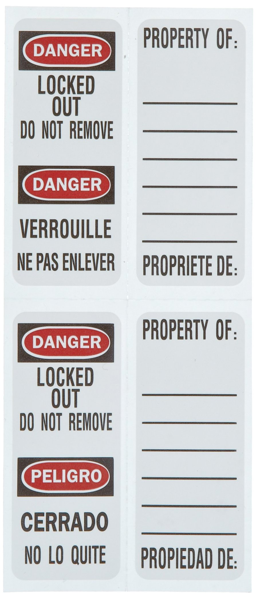 Master Lock 411RED Keyed Different Safety Lock Padlock, Red