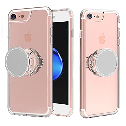 Amazon.com: Muntinfe - Carcasa para iPhone 8, transparente ...