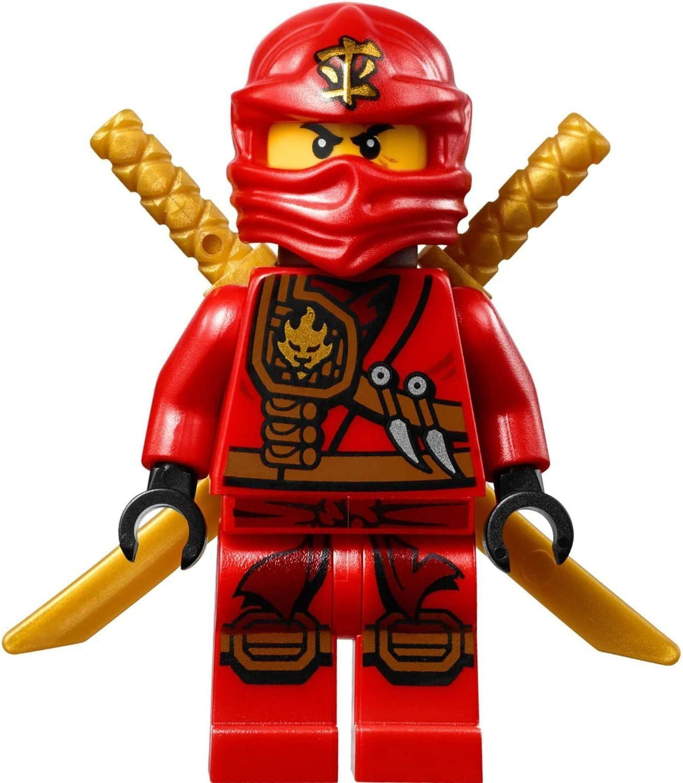 Amazon.com: LEGO Ninjago – Minifigura Kai zukin Robe Jungla ...