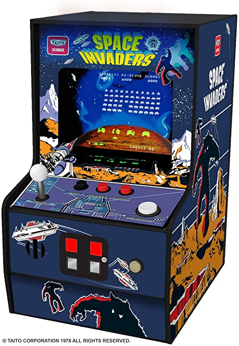 Arcade Classics Space Invaders Mini Arcade Game New Factory Sealed ONE ONLY