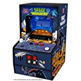 My Arcade Micro Player Mini Arcade Machine: Space Invaders Video Game, Fully Playable, Collectible, Color Display, Speaker, V
