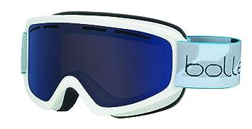d965354127f98d Bollé - SCHUSS - Masque de Ski - Mixte - Adulte - Blanc Mat  Bronze ...