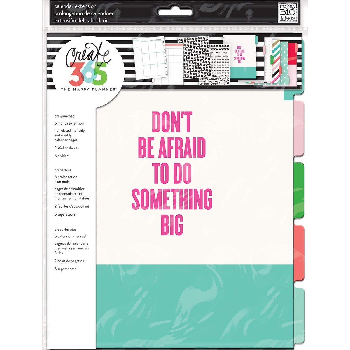 Me & My Big Ideas The Happy Big Planner Edition, Month